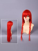 Touhou Project Hoan Meirin/Hong Meiling Red Cosplay Wig