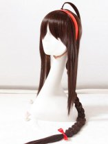 VOCALOID 3 Cosplay Ling Caiyin Dark Brown Cosplay Wig