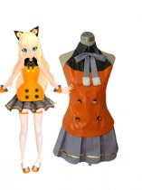 Vocaloid 3 SeeU Cosplay Costume