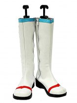 Vocaloid White Fake Hatsune Miku Cosplay Boots