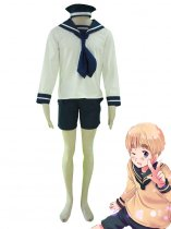 Axis Powers Cosplay Italy Feliciano Vargas First Sailor Suit Cosplay Costume