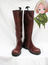 Axis Powers Hetalia Poland and British Cosplay Boots