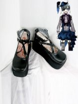 Black Butler Cosplay Ciel Female Cosplay Shoes Lolita Shoes