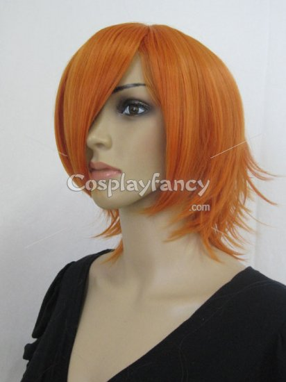 Black Butler Katsu Anri Orange Cosplay Wig - Click Image to Close