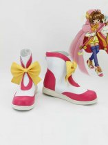 Cardcaptor Sakura Sakura Artificial Leather TV Cosplay Boots