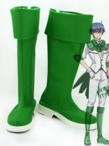 Cute High Earth Defense Club LOVE! Atsushi Kinugawa Green Cosplay Boots