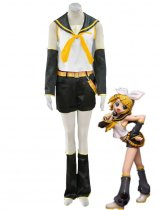 Kagamine Rin Uniform Cloth Cosplay Costume