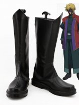 Mobile Suit Gundam 00 Graham Aker Cosplay Boots
