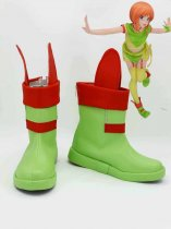 Mobile Suit Gundam ZZ Elpeo Ple Cosplay Boots