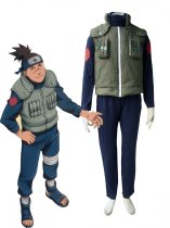 Naruto Cosplay Konohagakure Jonins Uniform Cosplay Costume