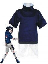 Naruto Cosplay Sasuke Uchiha Child Uniform Cosplay Costume