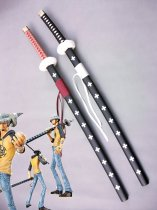New One Piece Cosplay Trafalgar Law's Wood Cosplay Sword