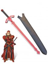 Sword Art Online ALO General Eugene Cosplay Wood Sword