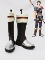The Legend of Heroes VI Kurz Nardin Brown Cosplay Boots