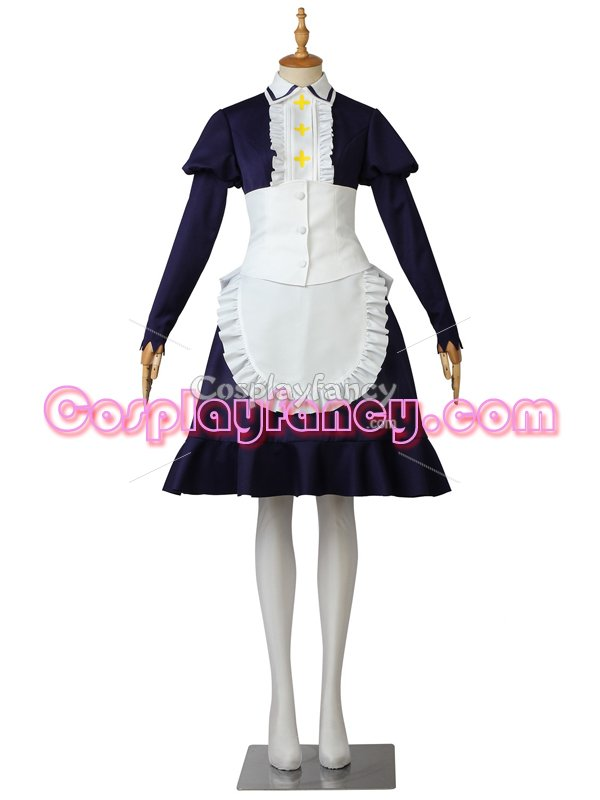The Seven Deadly Sins Elizabeth Liones Cosplay Maid Costume