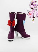 Touhou Project Cosplay Patchouli Knowledge Cosplay Boots