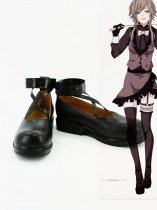 Vocaloid Deadline Circus Gumi Black Cosplay Shoes
