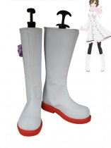 Vocaloid Meiko Cosplay Show Leather Boots