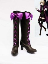 Black Butler II Alois Trancy Pretty Bow Cosplay Boots