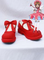 Cardcaptor Sakura Cosplay Sakura Kinomoto Red Cosplay Shoes