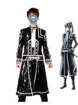D.Gray-man Cosplay Leather Exorcist Yu Kanda Second Cosplay Costume