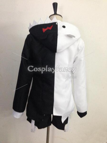 Dangan Ronpa Black & White Monokuma Cosplay Costume