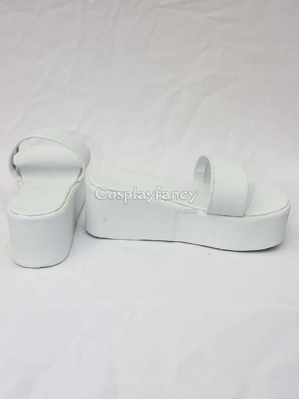 Fairy Tail Cosplay Evergreen White Cosplay Shoes