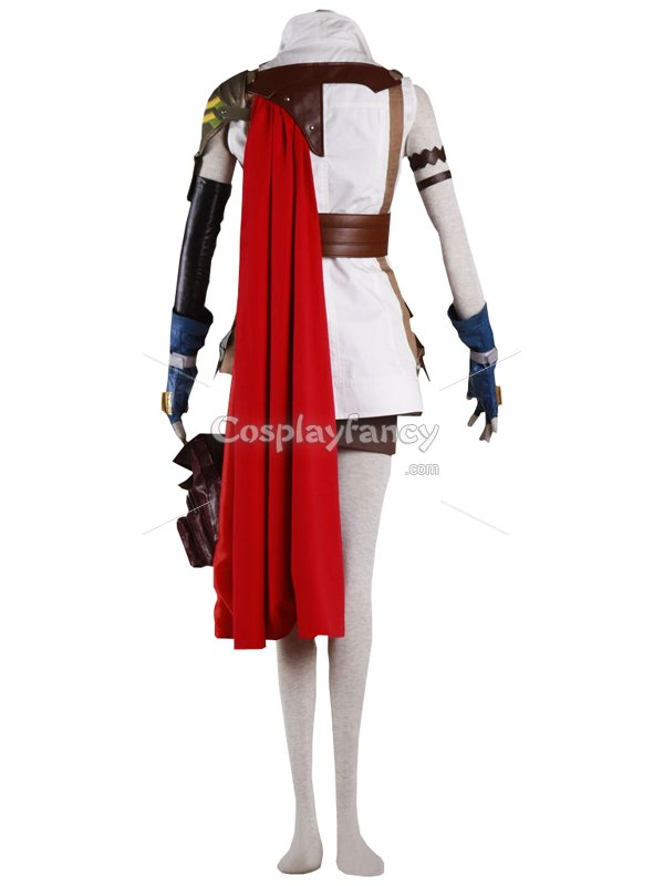 Final Fantasy XIII Cosplay Cool Lightning Cosplay Costume