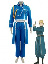 Fullmetal Alchemist Cosplay National/State Army Military Cosplay Costume