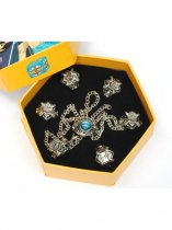 Hitman Reborn Cosplay New Vongola Family Rings