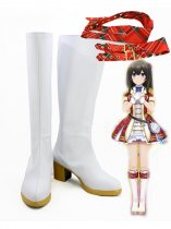 Idolm@ster Shibuya Rin White Cosplay Boots