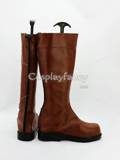 Karneval Nai Muhinyi Brown Cosplay Boots - Click Image to Close