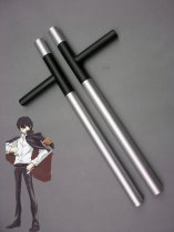 Katekyo Hitman Reborn Hibari Kyoya Wood Cosplay Weapon