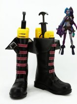 League of Legends Jinx Cosplay Boots