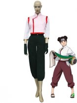 Naruto Shippuden Cosplay Tenten 2nd Pink Uniform Cosplay Costume