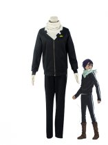 Noragami Cosplay Yato Cosplay Costume/Sportswear With White Scarf