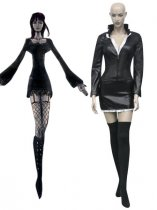 One Piece Cosplay Nico Robin Black Cosplay Costume