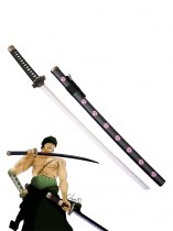 One Piece Cosplay Roronoa Zoro Cosplay Wood Sword Shusui