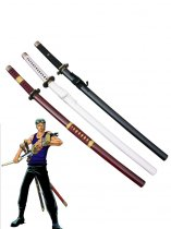 One Piece Cosplay Roronoa Zoro Whole 3 Cosplay Wood Swords