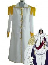 One Piece Cosplay Supreme Commander Cosplay Costume