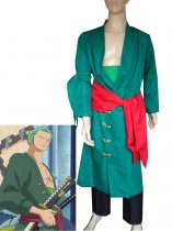 One Piece Cosplay Uniform Cloth Roronoa Zoro Suit