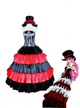 One Piece Perona Two Years Later Cosplay Costume/Dress