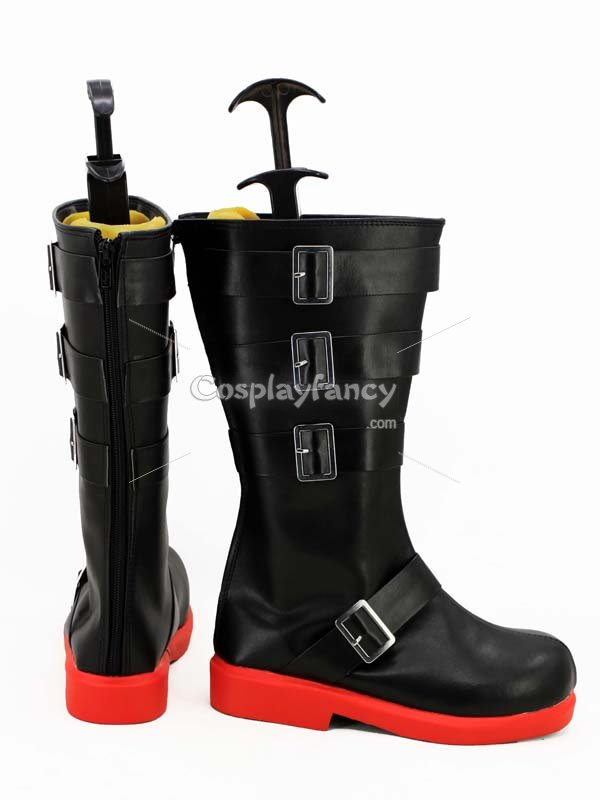 RWBY 4 Red Trailer Ruby Rose Cosplay Boots