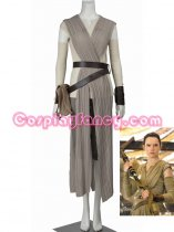 Star Wars: Episode VII- The Force Awakens Rey Cosplay Costume