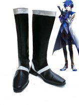 Vocaloid Kaito Cosplay Show Leather Boots