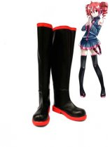 Vocaloid Kasane Teto Cosplay Show Leather Boots