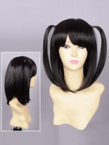 Z/X Ignition Aina Mikage Black Cosplay Wig