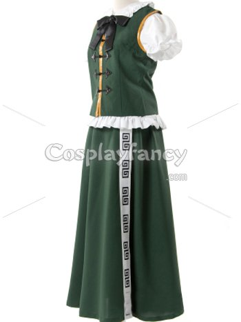 Phantasmagoria Of Dim Dream Red m.l. Cosplay Costume