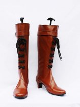 11eyes: Tsumi to Batsu to Aganai no Shojo Brown Female Cosplay Boots