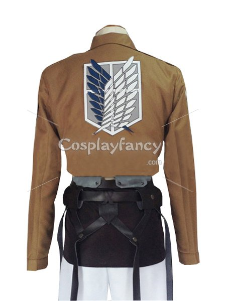 Attack on Titan Connie Springer Cosplay Costume Scouting Legion Uniform